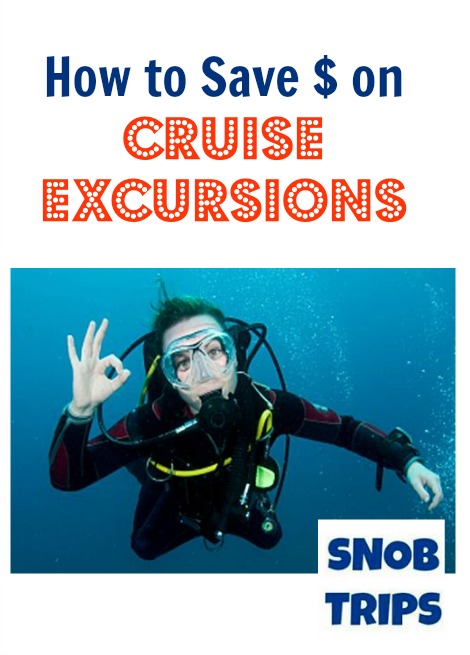 how to save money on cruise excursions