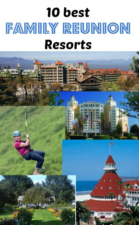10 best family reunion resorts