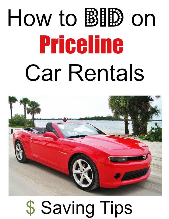 how to bid on priceline car rentals