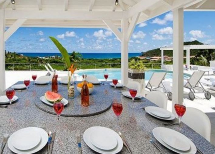 st martin villa rental for large family