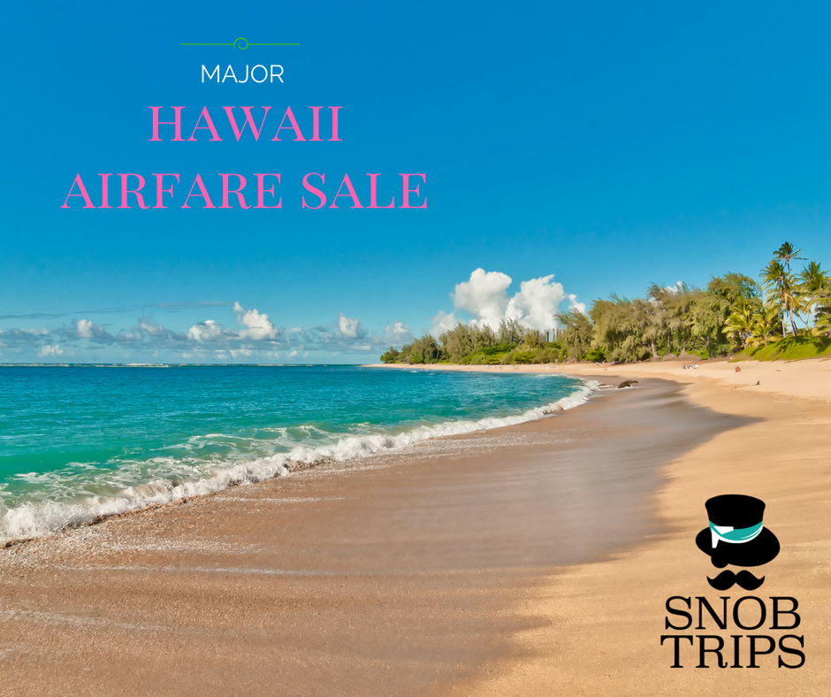 hawaii flights are on sale